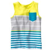 Jumping Beans Striped Pocket Tank - Boys 4-7x
