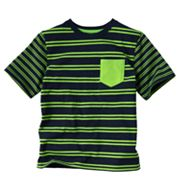 Jumping Beans Striped Pocket Tee - Boys 4-7x