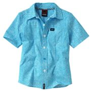 Tony Hawk Geometric Woven Button-Down Shirt - Boys 4-7x