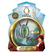 Disney Oz The Great and Powerful Spellbinding Necklace and Ring Set