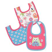 Lamaze 3-pk. Cat Interlock Bibs