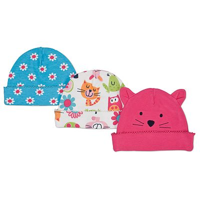 Lamaze 3-pk. Cat Knit Hats