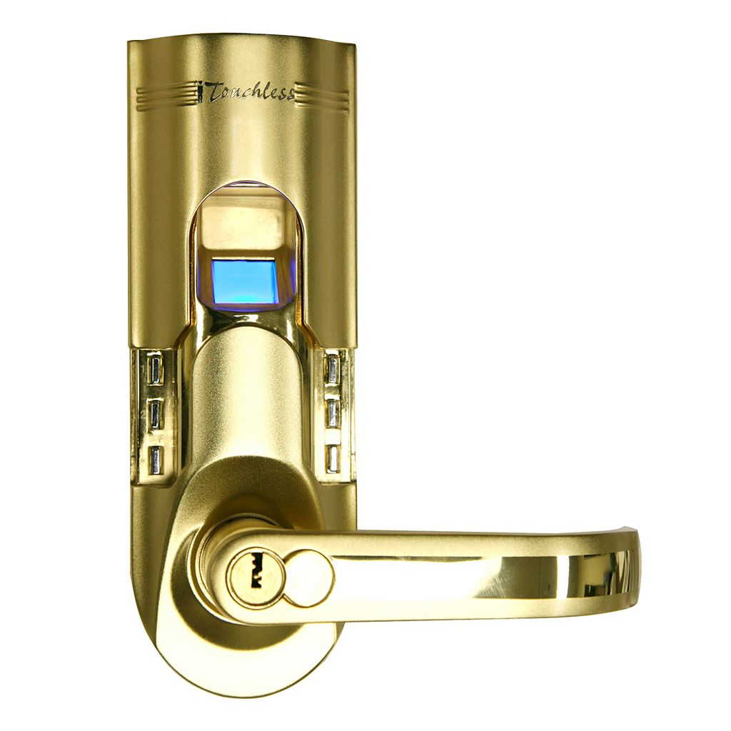 iTouchless Bio-Matic Fingerprint Door Lock - Right Handle