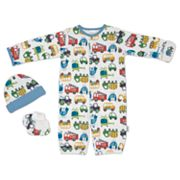 Lamaze 3-pc. Truck Convertible Coveralls Set - Baby