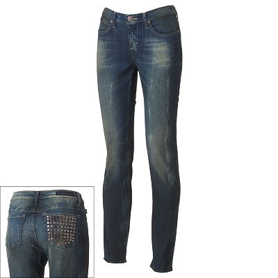 Rock and Republic Berlin Embellished Skinny Jeans