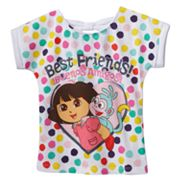 Dora the Explorer Best Friends Back-Bow Tee - Toddler