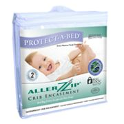 Protect-A-Bed AllerZip Terry Crib Mattress Encasement