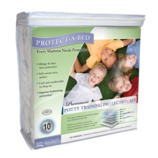 Protect-A-Bed Potty Training Protection Kit - Twin