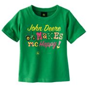 John Deere Makes Me Happy Tee - Toddler