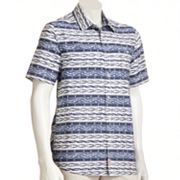 Brigade Tribal Print Woven Shirt - Men