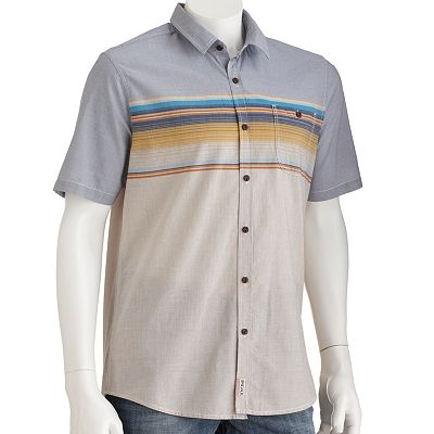 Brigade Striped Woven Shirt - Men