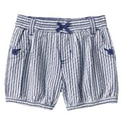 Carter's Striped Seersucker Shorts - Baby