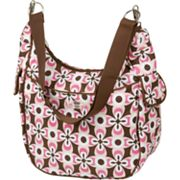 The Bumble Collection Chloe Convertible Diaper Bag - Floral Geo
