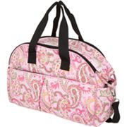 The Bumble Collection Erica Carry-All Diaper Bag - Paisley