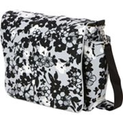 The Bumble Collection Jessica Messenger Diaper Bag - Evening Bloom