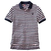 Chaps Thin-Striped Polo - Boys 8-20