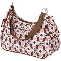 The Bumble Collection Taylor Transitional Diaper Bag - Floral Geo