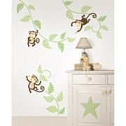 WallPops Monkeying Around Wall Art Kit