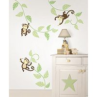 WallPops Monkeying Around Wall Decals