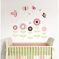 WallPops Butterfly Garden Wall Decals