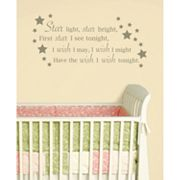 WallPops Star Light, Star Bright Wall Art Kit