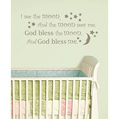 WallPops 'See The Moon' Wall Decals