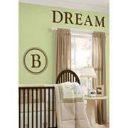 WallPops Durham Monogram Decal Set