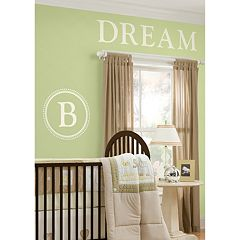 WallPops Durham Monogram Wall Decals