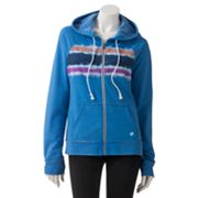 Hang Ten Tie-Dyed Zip Front Hoodie - Juniors