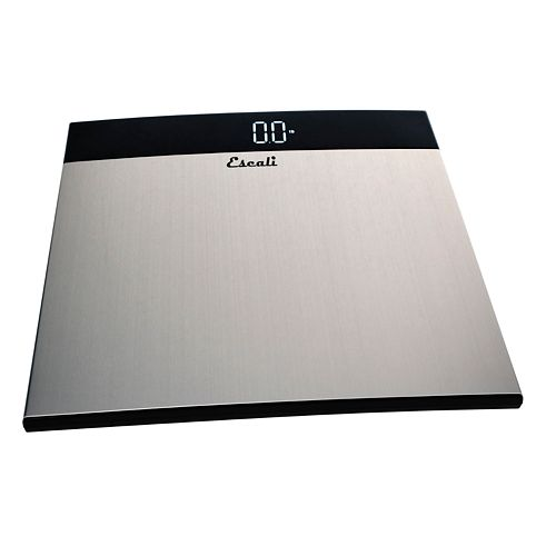 Escali Stainless Steel Bathroom Scale