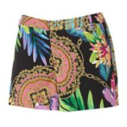 Jennifer Lopez Floral Trouser Shorts