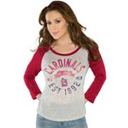 G3 by Alyssa Milano St. Louis Cardinals Hometown Tee - Women