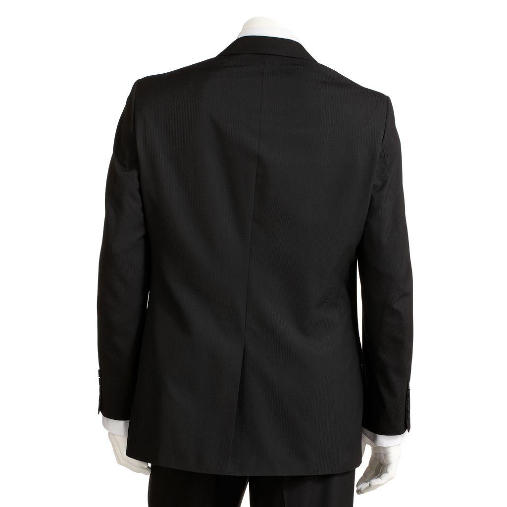 Men's Haggar® 1926 Originals Tailored-Fit Black Drop Needle Suit Jacket - Men