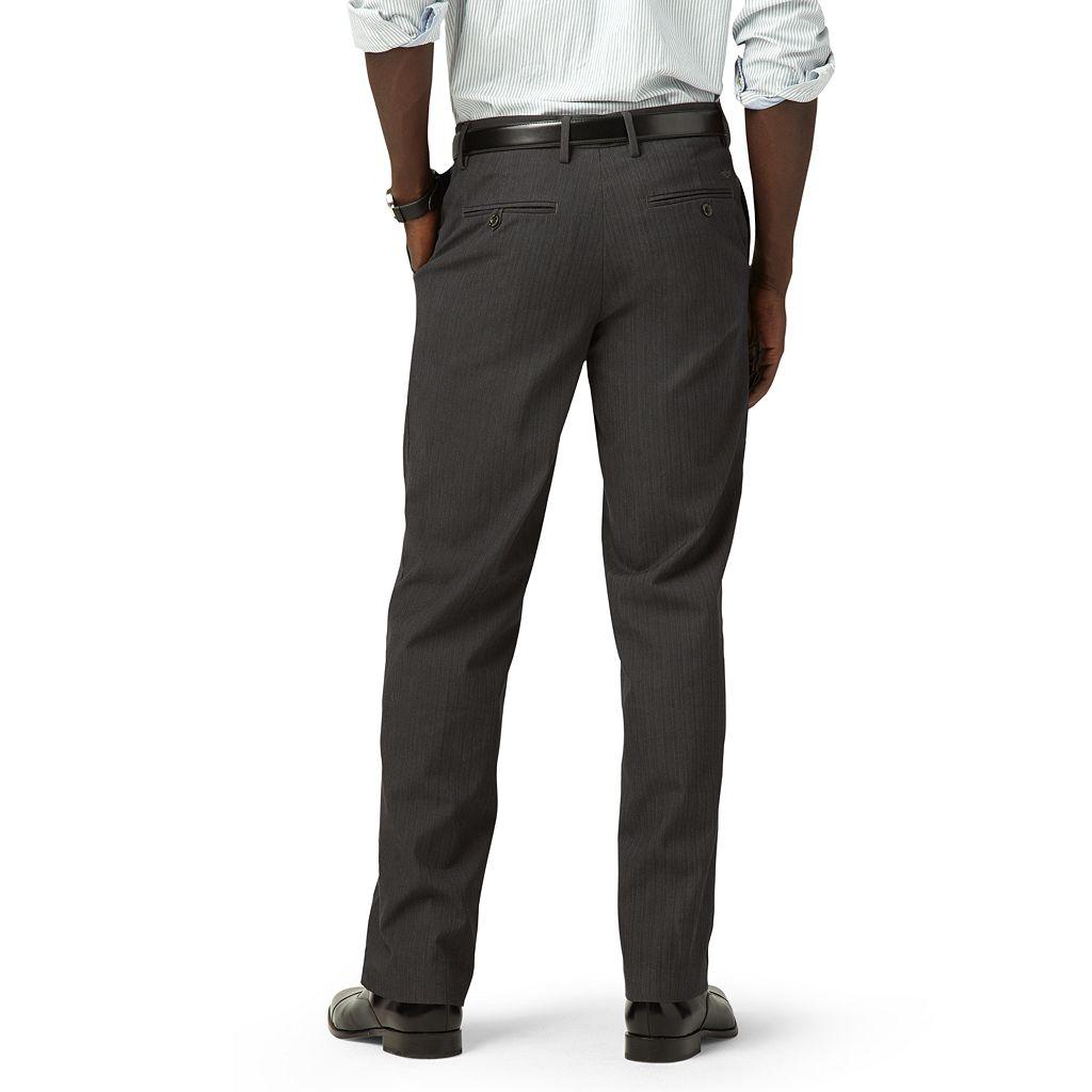 Men's Dockers® Straight-Fit Iron-Free Stretch Khaki Pants D2