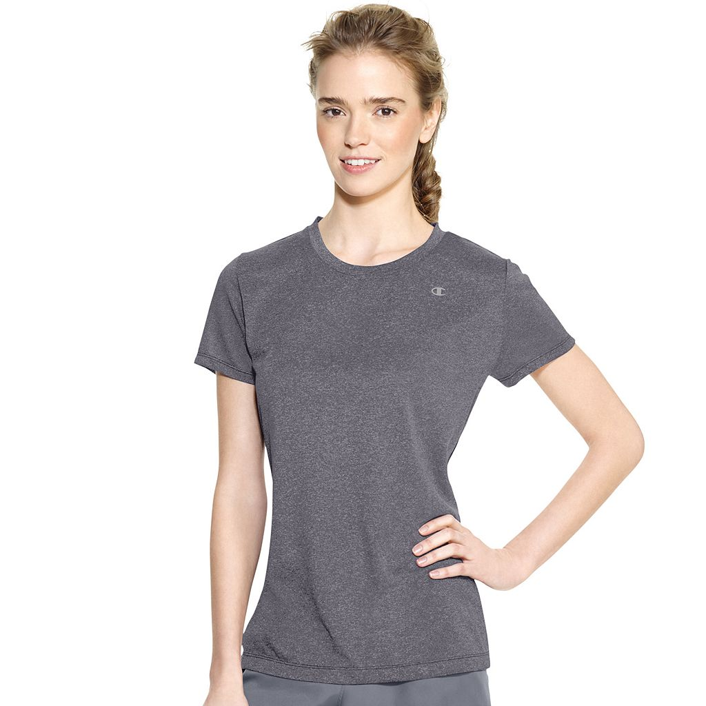 Women's Champion PowerTrain Heather Performance Tee