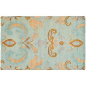 "Safavieh Soho Blue Floral Rug - 7'6"" x 9'6"""