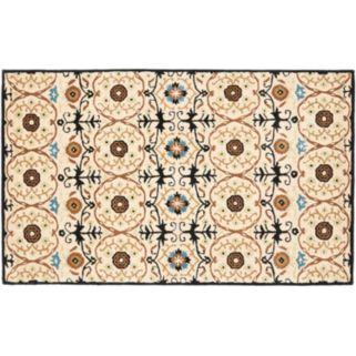 Safavieh Soho Ivory Floral Rug - 5' x 8'