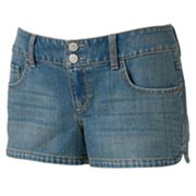 SO Denim Shortie Shorts - Juniors