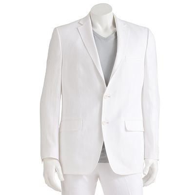 Marc Anthony Solid Linen Suit Jacket
