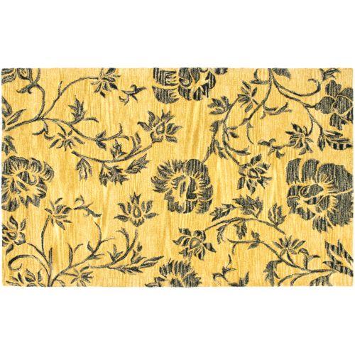 Safavieh Soho Distressed Floral Rug – 7'6″ x 9'6″