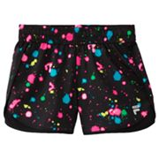 FILA SPORT Color Splatter Performance Running Shorts - Girls 7-16