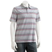 Croft and Barrow Striped Easy-Care Polo - Big and Tall