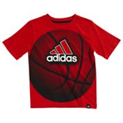 adidas Basketball Tee - Boys 4-7x