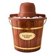 Nostalgia Electrics 4-qt. Wood Bucket Ice Cream Maker