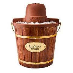 Nostalgia Electrics 4-qt. Wooden Bucket Ice Cream Maker