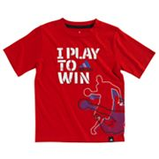 adidas I Play to Win Tee - Boys 4-7x