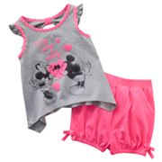 Disney Mickey Mouse and Friends Minnie Mouse Tunic and Shorts Set - Baby