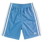 adidas Striped Mesh Shorts - Boys 4-7x