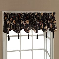 United Curtain Co. Charlotte Triple Ascot Window Valance - 54'' x 15''