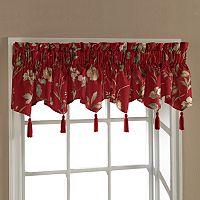 United Curtain Co. Charlotte Triple Ascot Valance - 54'' x 15''